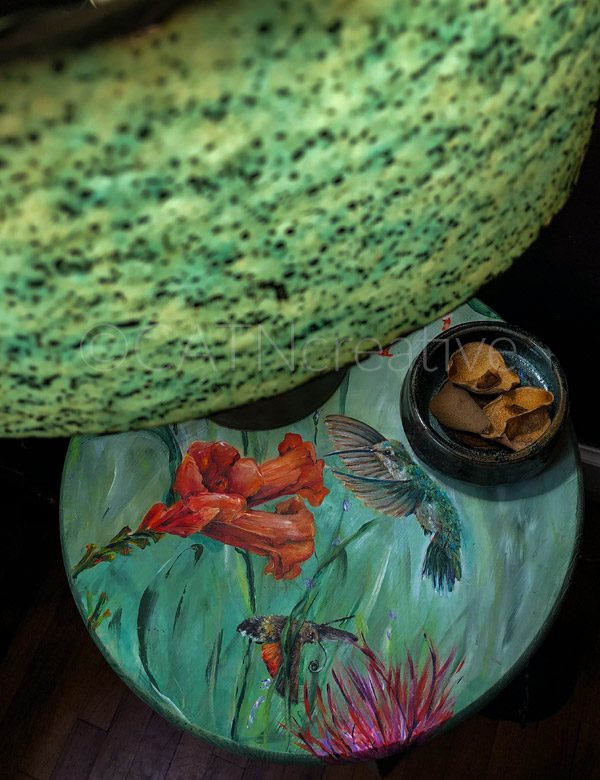 """""""Sweet Nectar"""" table by Shannon"""